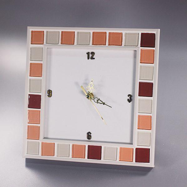 액자 시계 타일
