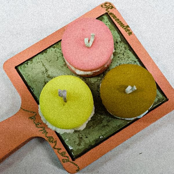 Lv.8 마카롱 캔들